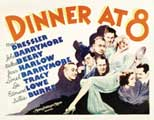 Dinner at Eight - 11 x 14 Movie Poster - Style B