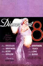 Dinner at Eight - 11 x 17 Movie Poster - Style D