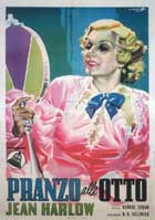 Dinner at Eight - 11 x 17 Movie Poster - Italian Style A