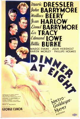 Dinner at Eight - 11 x 17 Movie Poster - Style A