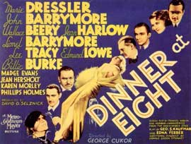 Dinner at Eight - 11 x 14 Movie Poster - Style A