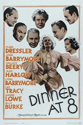 Dinner at Eight - 11 x 17 Movie Poster - Style B