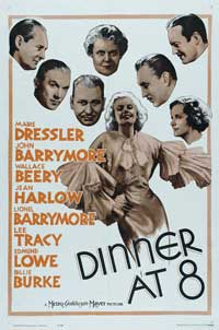 Dinner at Eight - 27 x 40 Movie Poster - Style B