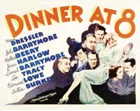 Dinner at Eight - 30 x 40 Movie Poster UK - Style A
