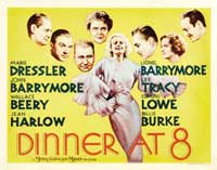 Dinner at Eight - 30 x 40 Movie Poster UK - Style B