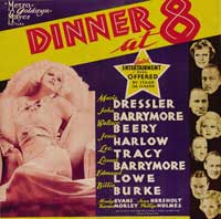 Dinner at Eight - 30 x 30 Movie Poster - Style A
