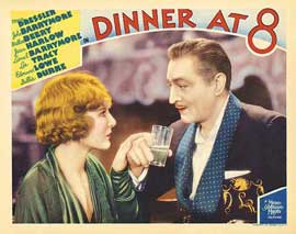 Dinner at Eight - 11 x 14 Movie Poster - Style C