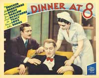 Dinner at Eight - 11 x 14 Movie Poster - Style F