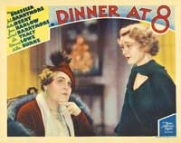 Dinner at Eight - 11 x 14 Movie Poster - Style G