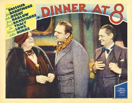 Dinner at Eight - 11 x 14 Movie Poster - Style H
