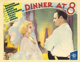 Dinner at Eight - 11 x 14 Movie Poster - Style I