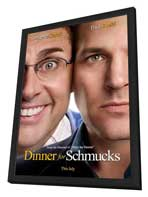 Dinner for Schmucks - 11 x 17 Movie Poster - Style A - in Deluxe Wood Frame