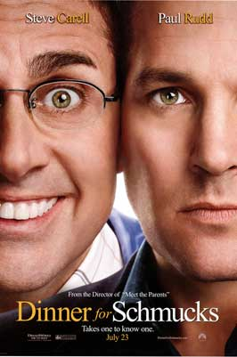 Dinner for Schmucks - 43 x 62 Movie Poster - Bus Shelter Style A