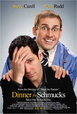Dinner for Schmucks - DS 1 Sheet Movie Poster - Style A