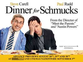 Dinner for Schmucks - 30 x 40 Movie Poster UK - Style A