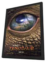 Dinosaur - 27 x 40 Movie Poster - Style A - in Deluxe Wood Frame