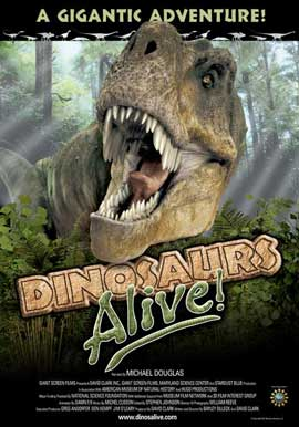 Dinosaurs Alive - 11 x 17 Movie Poster - Style A
