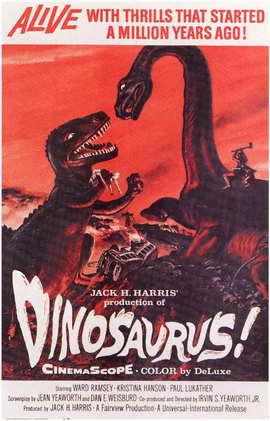 Dinosaurus! - 27 x 40 Movie Poster - Style A