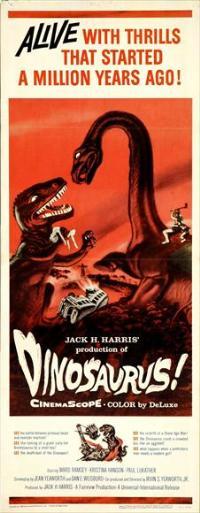Dinosaurus! - 14 x 36 Movie Poster - Insert Style A