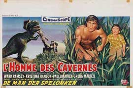 Dinosaurus! - 11 x 17 Movie Poster - Belgian Style A