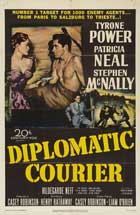Diplomatic Courier - 11 x 17 Movie Poster - Style B