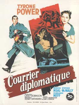 Diplomatic Courier - 11 x 17 Movie Poster - French Style A