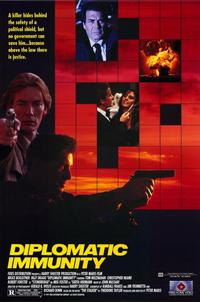 Diplomatic Immunity - 11 x 17 Movie Poster - Style B
