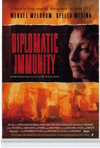 Diplomatic Immunity - 27 x 40 Movie Poster - Style B
