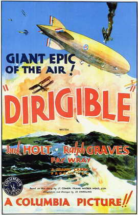 Dirigible - 11 x 17 Movie Poster - Style A