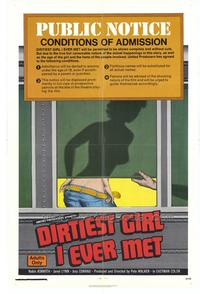 Dirtiest Girl I Ever Met - 11 x 17 Movie Poster - Style A