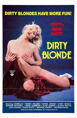 Dirty Blonde - 27 x 40 Movie Poster - Style A