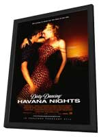 Dirty Dancing: Havana Nights - 27 x 40 Movie Poster - Style B - in Deluxe Wood Frame