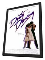 Dirty Dancing - 11 x 17 Movie Poster - Style A - in Deluxe Wood Frame