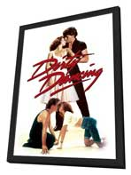 Dirty Dancing - 11 x 17 Movie Poster - Style D - in Deluxe Wood Frame