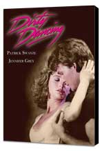 Dirty Dancing - 27 x 40 Movie Poster - Style B - Museum Wrapped Canvas