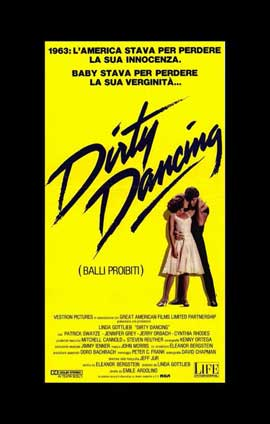 Dirty Dancing - 11 x 17 Movie Poster - Italian Style A