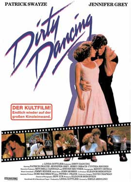 Dirty Dancing - 11 x 17 Movie Poster - German Style C
