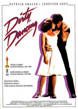 Dirty Dancing - 11 x 17 Movie Poster - Spanish Style A