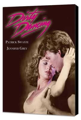Dirty Dancing - 11 x 17 Movie Poster - Style C - Museum Wrapped Canvas