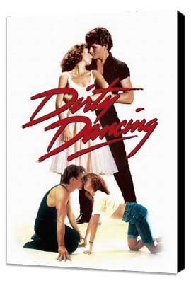 Dirty Dancing - 11 x 17 Movie Poster - Style D - Museum Wrapped Canvas