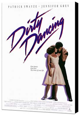 Dirty Dancing - 27 x 40 Movie Poster - Style A - Museum Wrapped Canvas