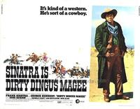 Dirty Dingus Magee - 11 x 14 Movie Poster - Style A