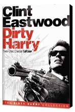 Dirty Harry - 11 x 17 Movie Poster - Style F - Museum Wrapped Canvas
