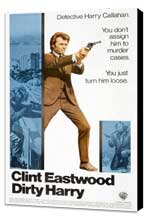 Dirty Harry - 27 x 40 Movie Poster - Style I - Museum Wrapped Canvas