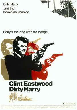 Dirty Harry - 11 x 17 Movie Poster - Style B