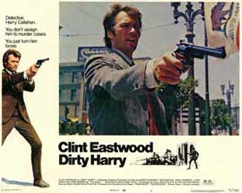 Dirty Harry - 11 x 14 Movie Poster - Style E