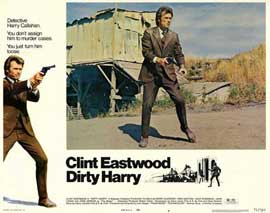 Dirty Harry - 11 x 14 Movie Poster - Style F