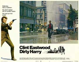 Dirty Harry - 11 x 14 Movie Poster - Style G