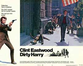 Dirty Harry - 11 x 14 Movie Poster - Style H