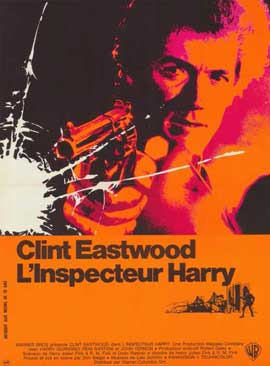 Dirty Harry - 11 x 17 Movie Poster - French Style A